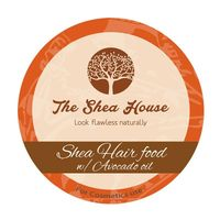 THE SHEA HOUSE - Shea Hair Food with Avocado Oil - odżywcze masło do olejowania włosów 250g