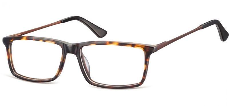 Korekcyjne oprawki okularowe damskie męskie brąz zdjęcie 4