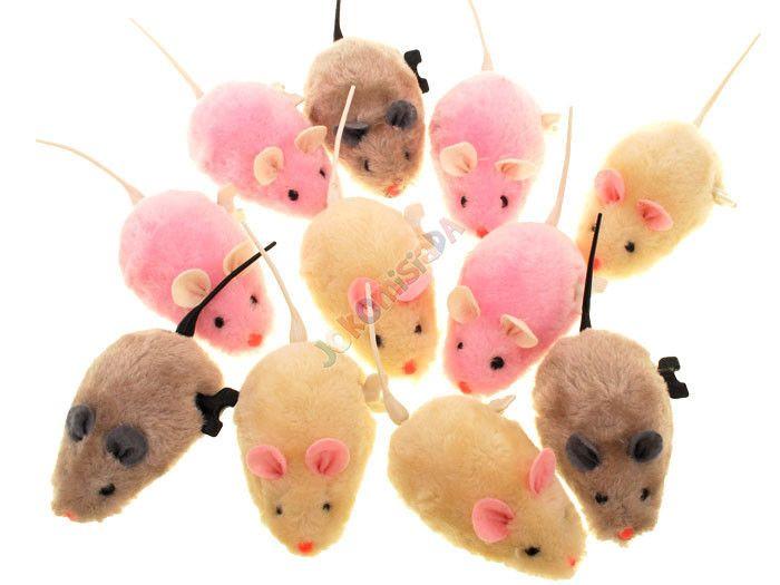Nakręcana MYSZKA dla dziecka i kotka mysz ZA0838 zdjęcie 3