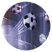 Firanka Futbol wysokość 170 cm - Pokój dziecięcy | WN6223 170 zdjęcie 2