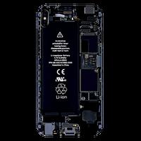 Etui case do iPhone 5S SE 6 6S 7 8 zepsuty rozbity wnętrze