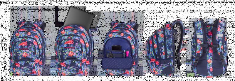 3a845aa42b705 Plecak CoolPack COLLEGE różowe flamingi