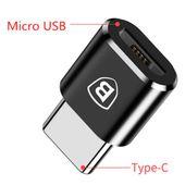 Adapter Baseus przejściowka Micro USB żeński do Typ C męski