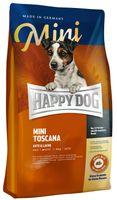 Karma dla psów ras małych HAPPY DOG HD-1191 Mini Toskania kaczka i łosoś 4 kg