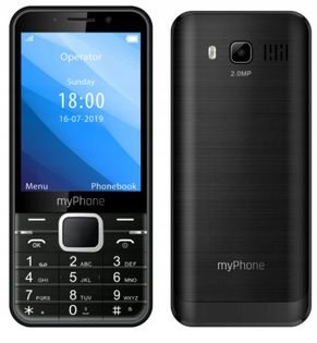 "TELEFON KLASYCZNY MYPHONE UP DUŻY EKRAN 3.2"""