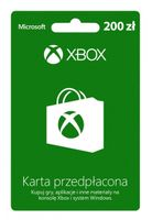 Karta przedpłacona Xbox Live 200 zł