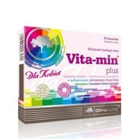 Olimp - Vitamin plus dla kobiet - 30 kaps