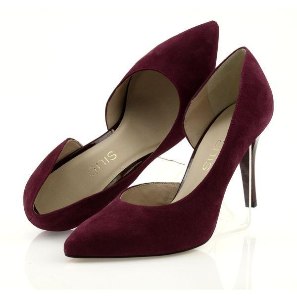 buty damskie czółenka rozmiar 41 zamszowe