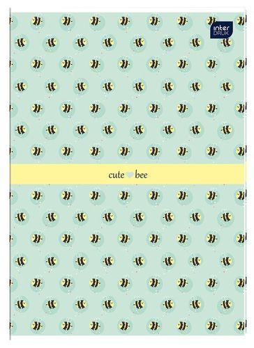 Zeszyt A4 w kolorową linię 32 kartki MIX DZIEWCZĘCY (58892) na Arena.pl
