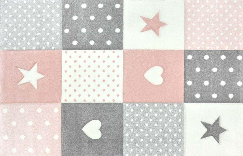 Uroczy dywan dla dzieci Pastel Kids miękki i gęsty 120x170cm zdjęcie 2