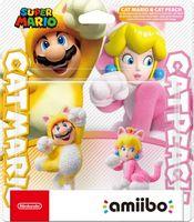Amiibo - Super Mario Cat Mario & Cat Peach - Switch