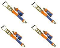 Zestaw: Cztery pasy transportowe z napinaczem do lawet 3M/50mm/4T zestaw czterech