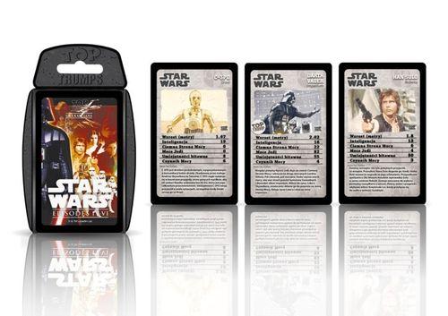 Gra Karciana  Top Trumps Star Wars IV-VI na Arena.pl