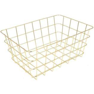Koszyk Na Owoce I Warzywa 30X21X14Cm Złoty Excellent Houseware 126051