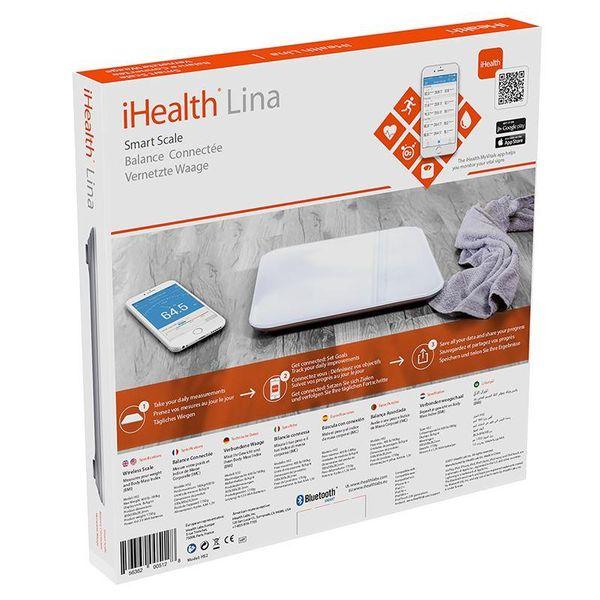 iHealth Lina Smart Scale - Waga z pomiarem BMI iOS/Android (Bluetooth) zdjęcie 5