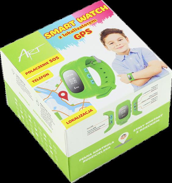 ZEGAREK KIDS SMARTWATCH DZIECI LOKALIZATOR GPS SIM zdjęcie 4