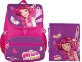 Plecak szkolny MM-01 Mia & Me + worek
