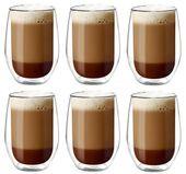 Szklanki Termiczne do Kawy Latte Herbaty 400ml Vialli Design 6 sztuk zdjęcie 1