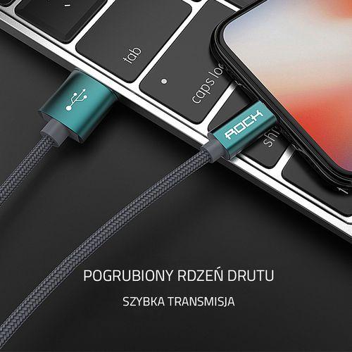 ORYGINALNY Kabel ROCK USB iPhone 5 SE 6S 7 100 cm na Arena.pl