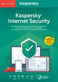 Kaspersky Internet Security 1 urządzenie / 90 dni Starter Pack 2019 PL