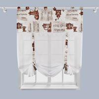 "Panel a'la roletka ""Caramella 2"" - 170x90 cm - biała"