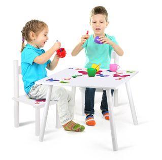 Stolik z krzesełkami z nadrukiem: Kolorowe motylki