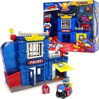 MagicBox Super Zings Posterunek Policji + 2 figurki + pojazd Superzings