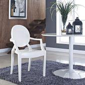Krzesło Dankor Design Louis Ghost przezroczysty zdjęcie 5