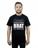 Koszulka męska TAK WYGLĄDA NAJLEPSZY BRAT M