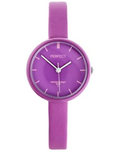 ZEGAREK DZIECIĘCY PERFECT - purple (zp731f)