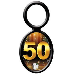 """Zawieszki na alkohol, """"Urodziny 50"""", 20 szt"""