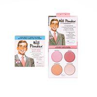 The Balm Will Powder Blush Quad Paleta Róży Do Policzków 10G