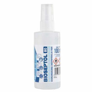 Płyn do dezynfekcji rąk Bioseptol 80, 100ml