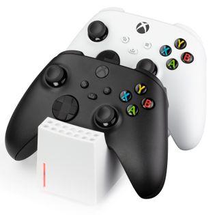 snakebyte Twin:Charge XSX stacja ładująca do Xbox Series S / X biała