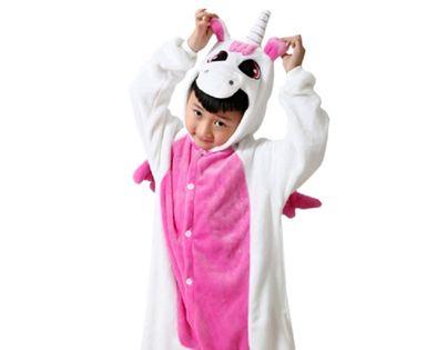 Kigu Onesie dla dzieci piżama różowy jednorożec L