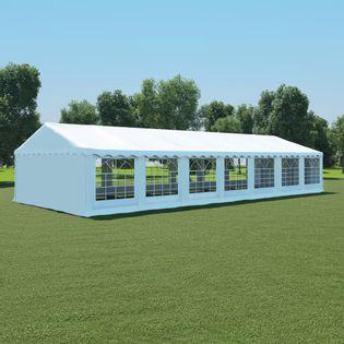 Pokrycie namiotu ogrodowego, 6x14m, biały