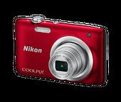 Aparat Nikon COOLPIX A100 - czerwony