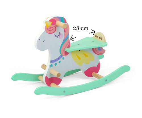 Koń na biegunach Milly Mally Lucky 18 Unicorn 3333 na Arena.pl