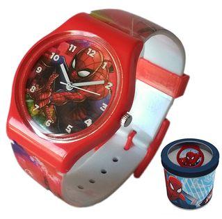 Zegarek dziecięcy Spider-Man Spiderman Licencja Marvel (50580 Red)