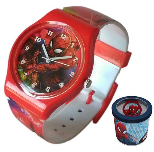 Zegarek dziecięcy Spider-Man Spiderman Licencja Marvel (50580 Red) na Arena.pl
