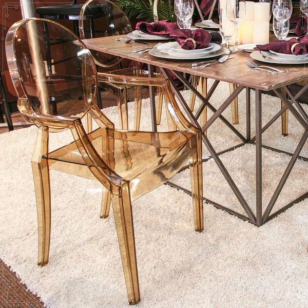 Krzesło Dankor Design Louis Ghost przezroczysty zdjęcie 10