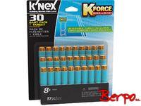 Knex 47528 K-Force Strzałki 30 szt + tarcza