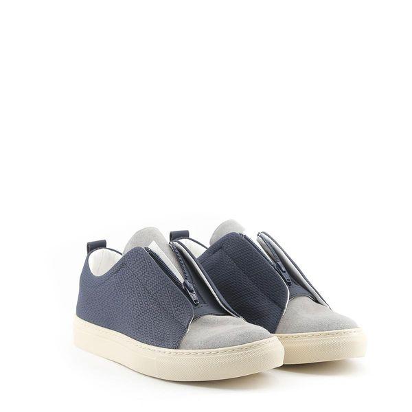 Made in Italia sportowe buty męskie sneakersy niebieski 45 zdjęcie 2