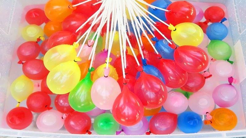 BALONY WODNE 100 szt BALON NA WODĘ BOMBY kolorowe zdjęcie 2