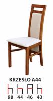 Krzesła Krzesło Tanio A44 Producent  Drewniane Bukowe