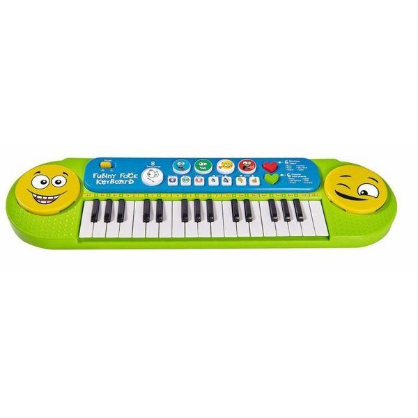 Simba Organki Zabawny Keyboard Z Bużkami na Arena.pl