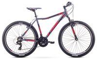 "Rower Romet Rambler 26 JR 1M (17"") szaro-czerwony"