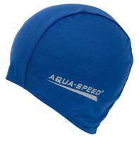 Czepek pływacki POLYESTER CAP Kolor - Czepki - Polyester Cap - 02 - niebieski