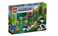 LEGO Minecraft - Żłobek dla pand 21158