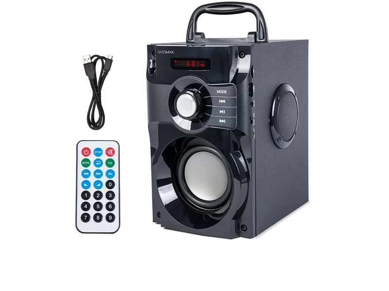 OVERMAX Soundbeat 2.0 - Głośnik Bluetooth USB SD AUX Radio PRZENOŚNY zdjęcie 1